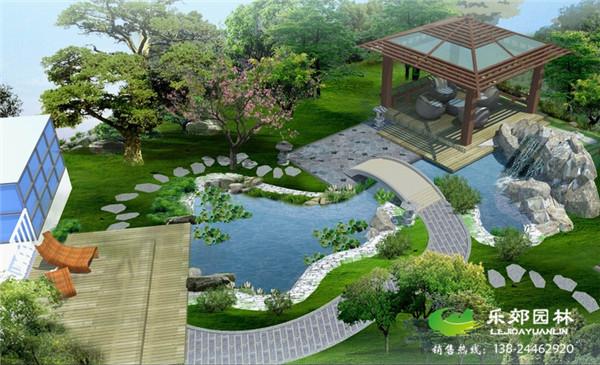 首页 私家庭院景观设计 现代简约庭院设计效果图
