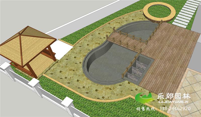 廣州花都區別墅花園工程施工開始了!